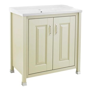 Old London 800mm Pistachio Freestanding Vanity Unit