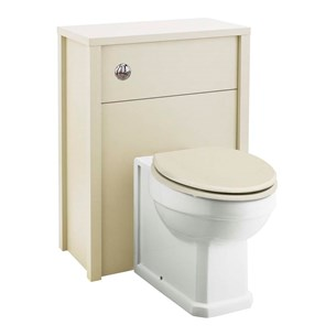 Old London 600mm Ivory WC Unit