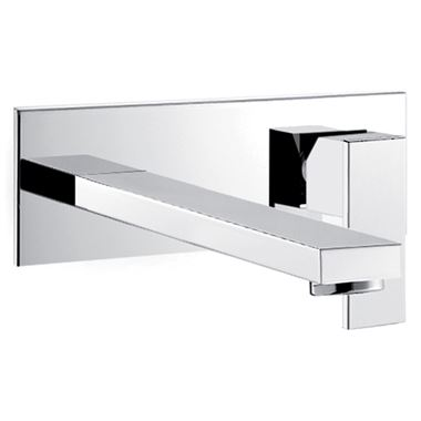 Vado Notion Wall Mounted Single Lever Basin Mixer with Extended Spout 220mm