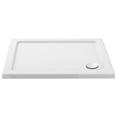 Drench MineralStone 40mm Low Profile Rectangular Shower Tray - 1000 x 800