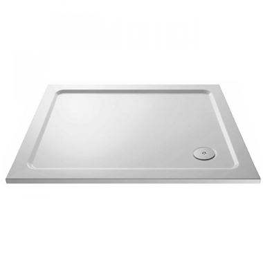 Drench MineralStone 40mm Low Profile Square Shower Tray - 1000x1000
