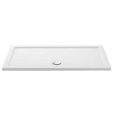Drench MineralStone 40mm Low Profile Rectangular Shower Tray - 1600 x800
