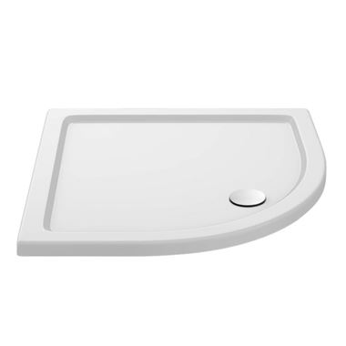 Drench MineralStone 40mm Low Profile Quadrant Shower Tray - 800x800