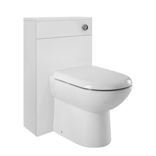 Vanguard 500mm Back To Wall Toilet Unit - Gloss White