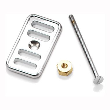 RAK Overflow Cover Plate Chrome Plated Brass for Ceramic Kitchen Sinks