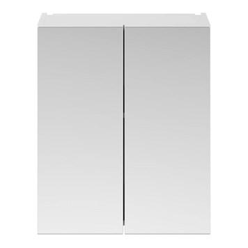 Drench Emily 600mm Mirror Cabinet - Gloss White