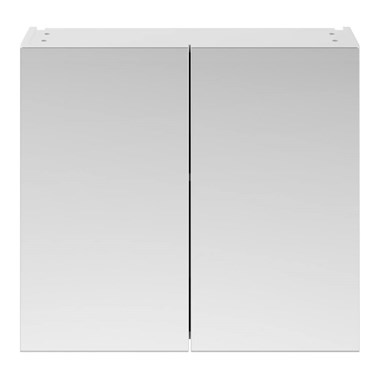 Drench Emily 800mm Mirror Cabinet - Gloss White