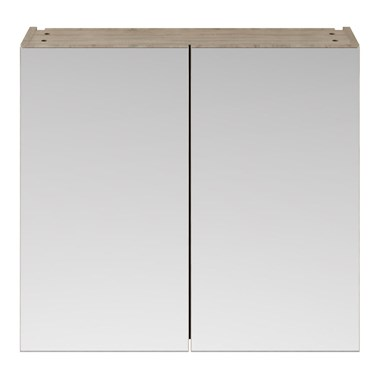 Drench Emily 800mm Mirror Cabinet - Driftwood
