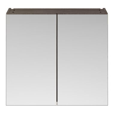 Drench Emily 800mm Mirror Cabinet - Grey Avola