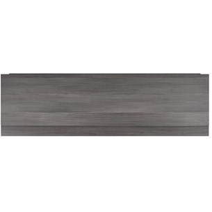Urban 1700mm Straight Bath Panel - Grey Avola