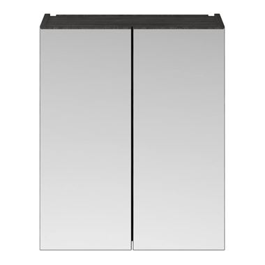 Drench Emily 600mm Mirror Cabinet - Hacienda Black