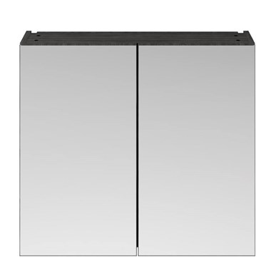 Drench Emily 800mm Mirror Cabinet - Hacienda Black