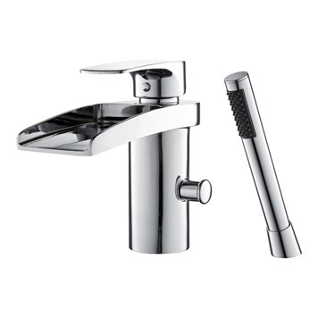 Mayfair Ohio Mono Bath Shower Mixer With Shower Kit