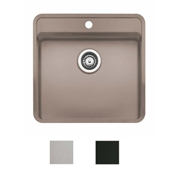 Reginox Ohio Coloured Stainless Steel Kitchen Sink Waste Kit With Tap Wing 540 X 510mm