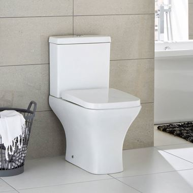 Osprey Compact Toilet with Slimline Soft-Close Seat