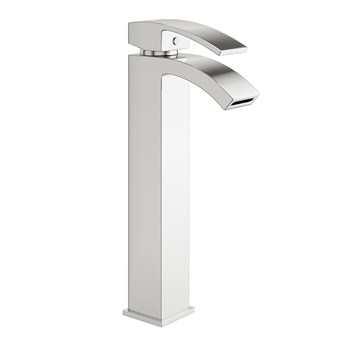 Vellamo City Tall Chrome Mono Basin Mixer Tap