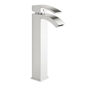 Vellamo City Tall Chrome High Rise Basin Tap