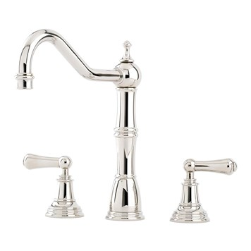 Perrin & Rowe Alsace 3 Hole Sink Mixer With Lever Handles