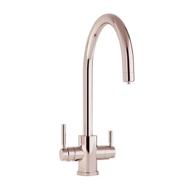 Perrin & Rowe Phoenix C Spout 3-in-1 Instant Hot Water Mixer Tap