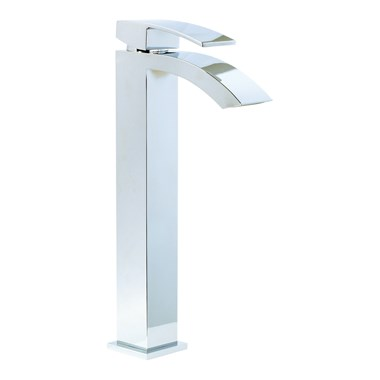 Phoenix AF Tall Basin Mixer & Square Sprung Waste