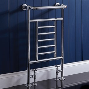 Phoenix Catherine Traditional Radiator - 914 x 535mm - Chrome