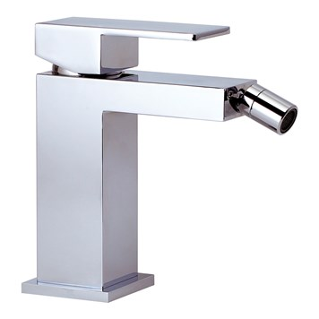 Phoenix CU Single Lever Bidet Mixer & Square Sprung Waste