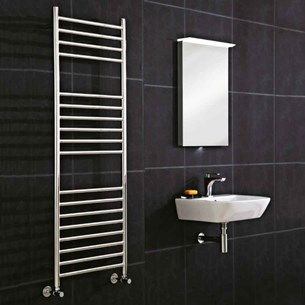 Phoenix Athena Stainless Steel Electric Towel Rail
