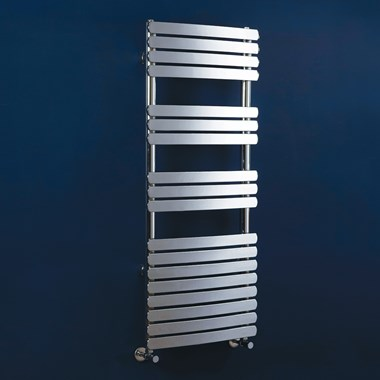 Phoenix Olivia Curved Designer Radiator - Chrome
