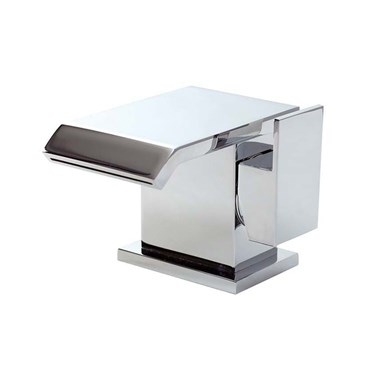 Phoenix Qusay Waterfall Mono Basin Mixer with Clicker Waste