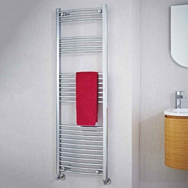 Phoenix Gina Curved Towel Warmer - Chrome