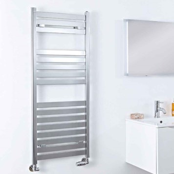 Phoenix Ascot Flat Chrome Towel Radiator