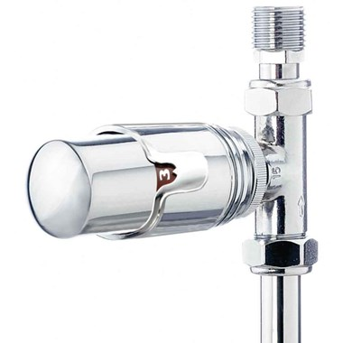 Phoenix Thermostatic Straight Radiator Valves