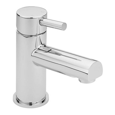 Sagittarius Piazza Monobloc Basin Mixer with Clicker Waste