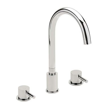 Sagittarius Piazza 3 Hole Deck Mounted Bath Filler
