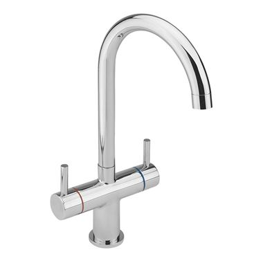 Sagittarius Piazza Twin Lever Monobloc Kitchen Mixer