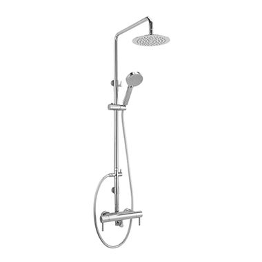 Sagittarius Piazza Exposed Thermostatic Shower Valve with Rigid Riser & Handset