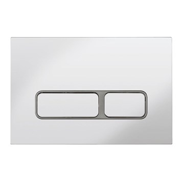 Bauhaus Pier Chrome Flush Plate