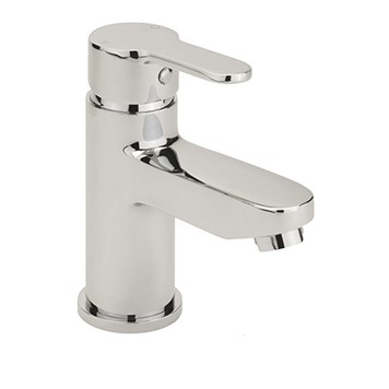 Sagittarius Plaza Monobloc Basin Mixer with Clicker Waste