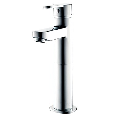 Sagittarius Plaza Extended Monobloc Basin Mixer with Clicker Waste