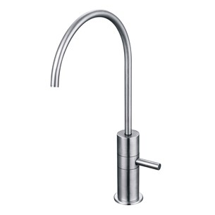 Clearwater Pluto Mono Single Flow Filtered Cold Water Tap - Stainless Steel