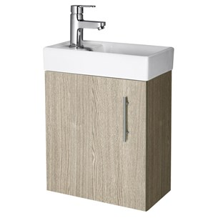 Premier Minimalist Compact Wall Hung Vanity Unit
