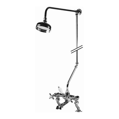 Premier Rigid Riser with Overhead Shower