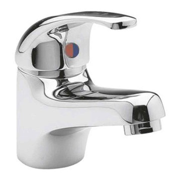 Ultra Eon Single Lever Mono Basin Mixer with Push Button Waste
