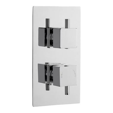 Premier Pioneer Twin Concealed Thermostatic Shower Valve with Diverter