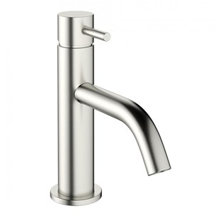 Crosswater Mike Pro Basin Monobloc - Brushed Stainless Steel