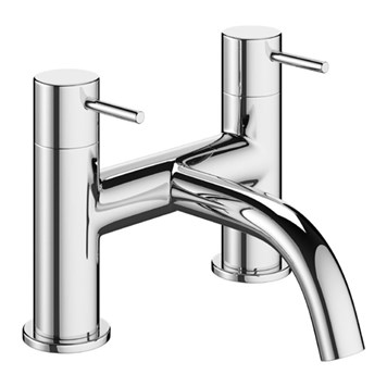 Crosswater Mike Pro Bath Filler Deck Mounted Chrome