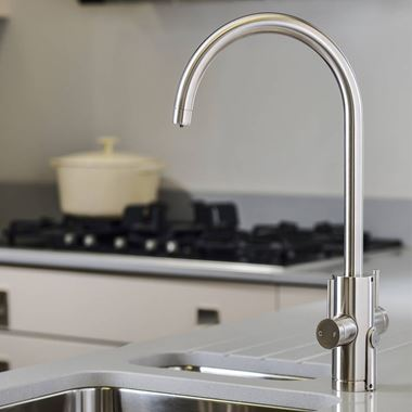 Abobe Pronteau Profile 4 in 1 Instant Hot & Filtered Water Tap - Brushed Nickel