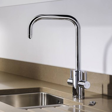 Abobe Pronteau Project 4 in 1 Instant Hot & Filtered Water Tap - Chrome