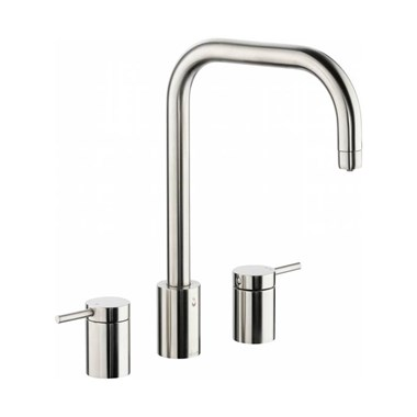 Abobe Pronteau Project 4 in 1 Instant Hot & Filtered Water Tap - 3 Hole - Brushed Nickel