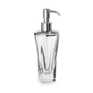 Bathroom Origins Pura Crystal Soap Dispenser